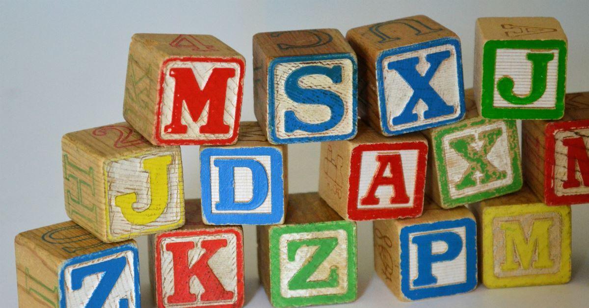 4. Pray the alphabet.