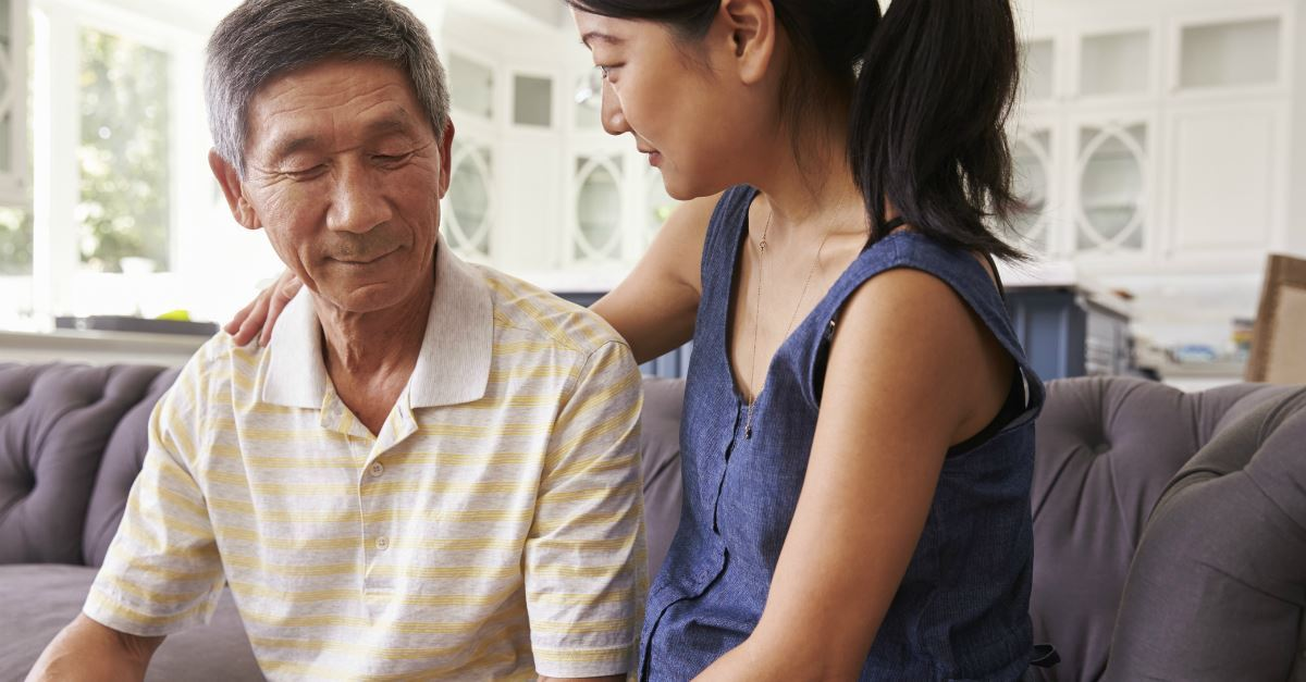 4. Give the caregiver understanding.