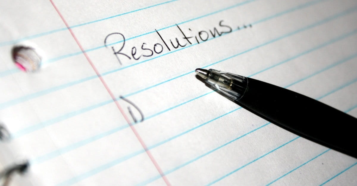 5 biblical new years resolutions