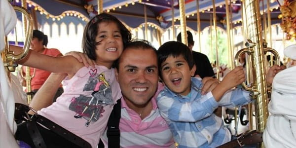 Saeed Abedini and Children 600