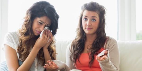 Women Crying False Comfort 600