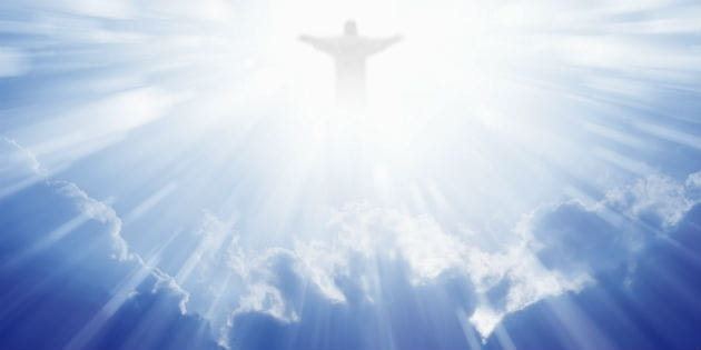 Image result for Jesus ascending