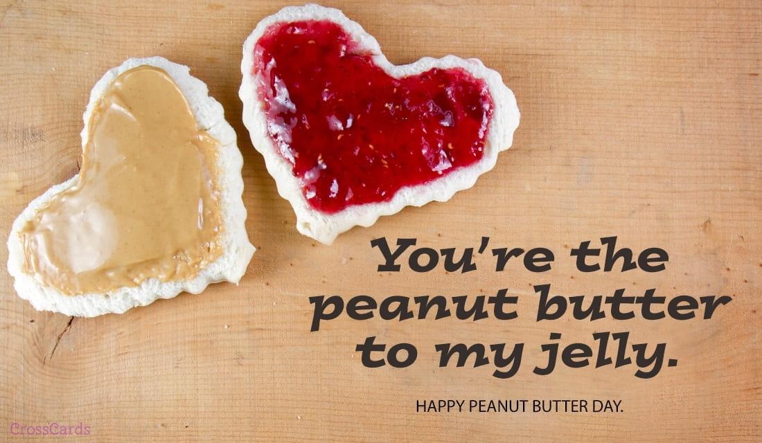 Happy Peanut Butter Day (1/24) ecard, online card