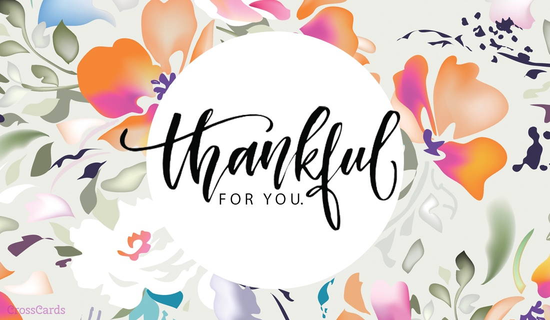Free I'm Thankful for You eCard   eMail Free Personalized Thank