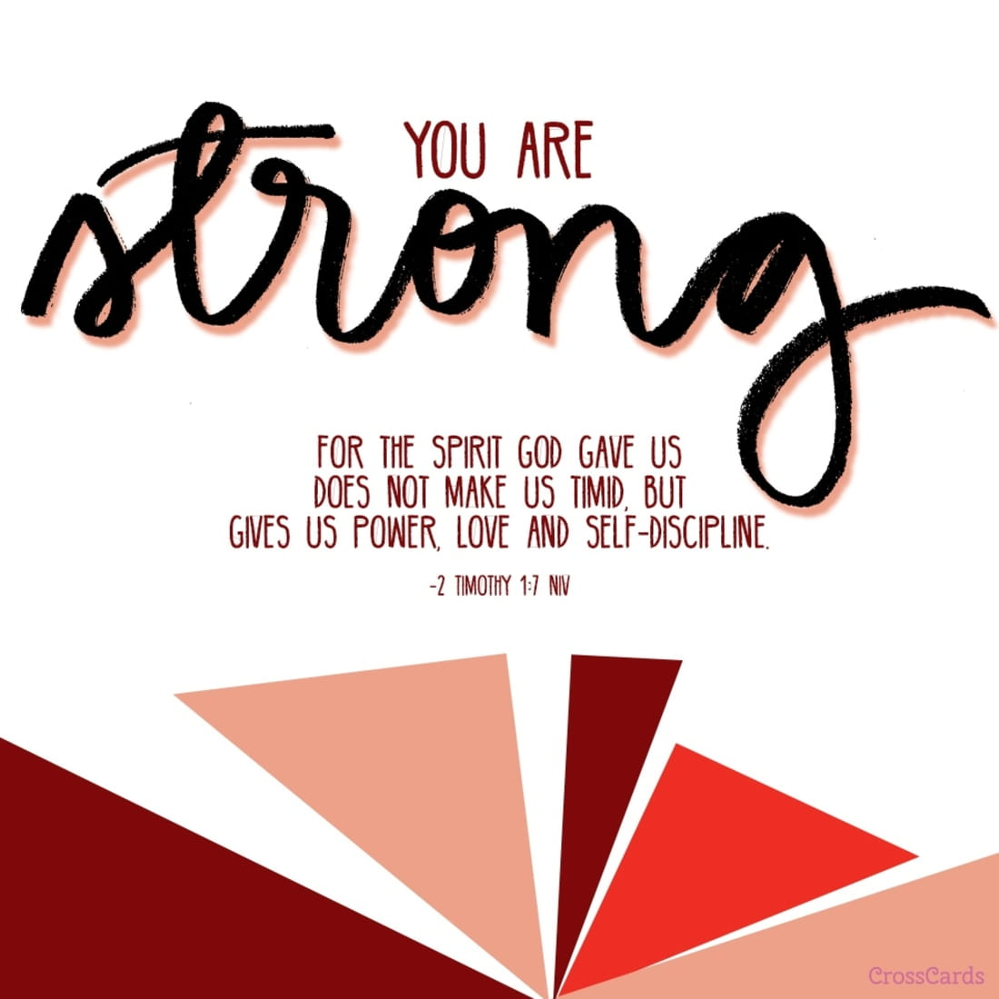 You Are Strong! ecard, online card