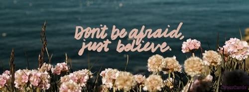 Just Believe mobile phone wallpaper