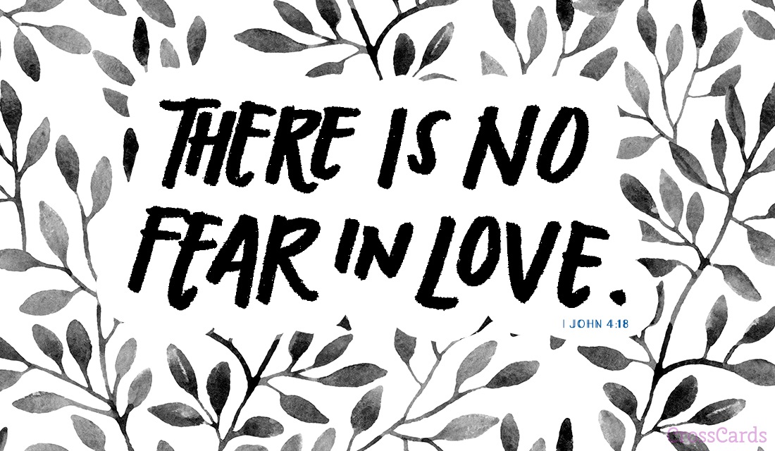 No Fear in Love ecard, online card