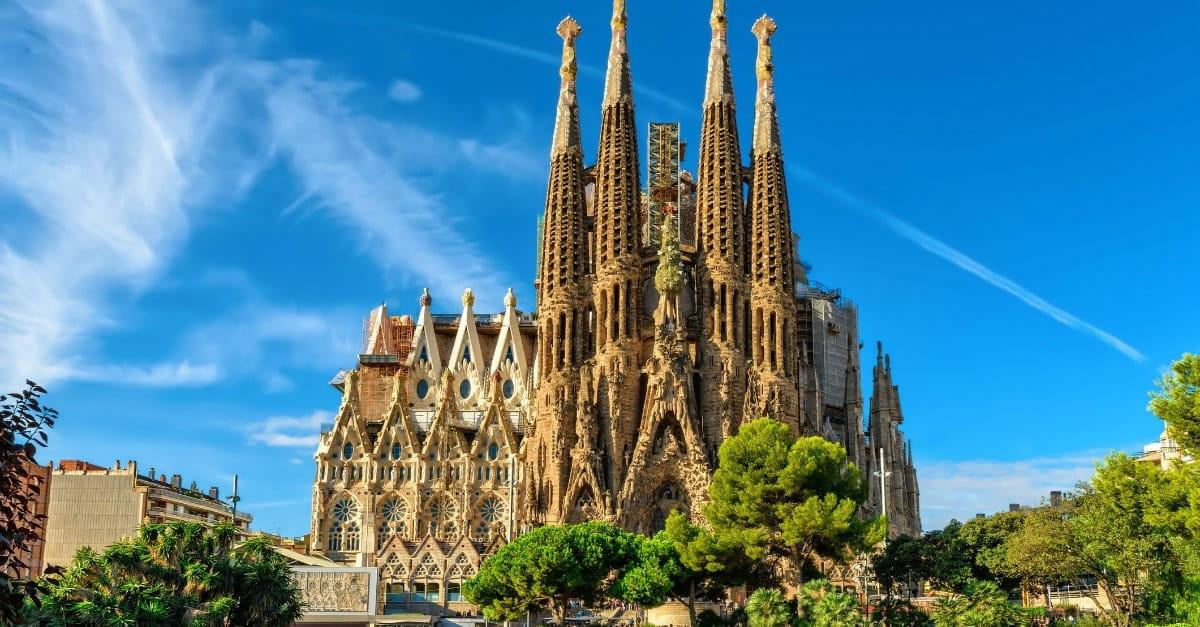 1. Sagrada Família – Barcelona, Spain