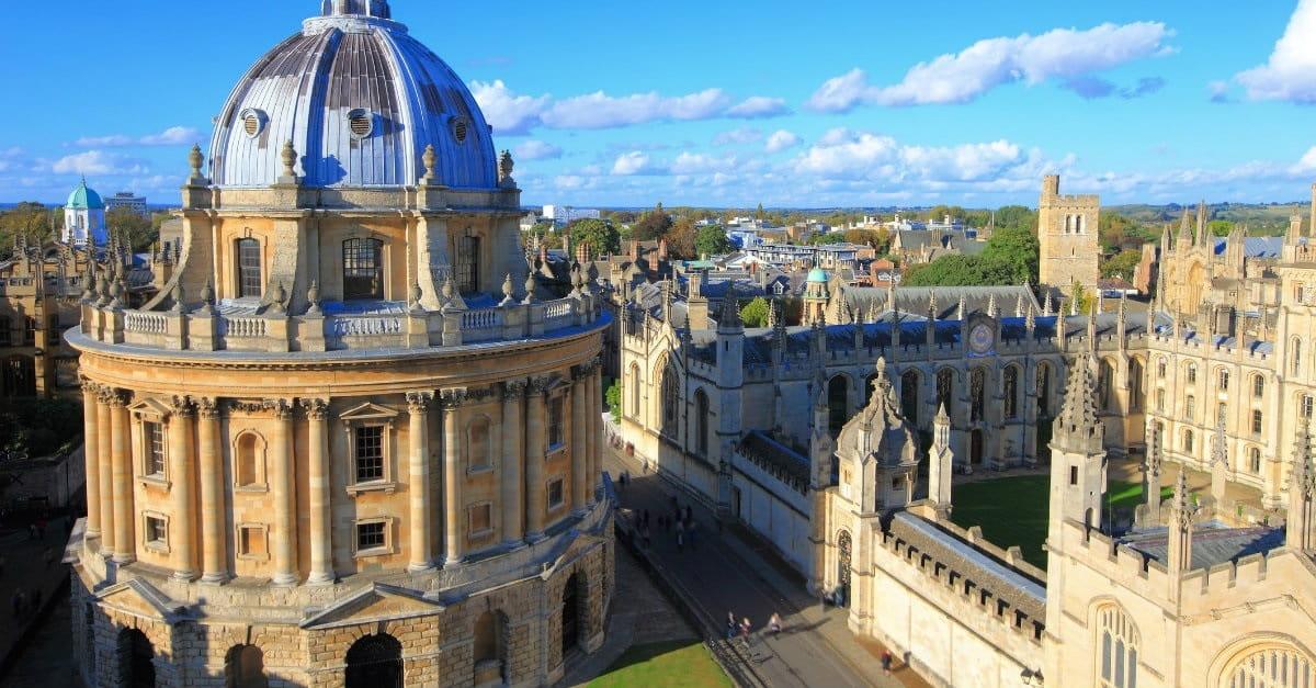 7. Oxford – England, United Kingdom