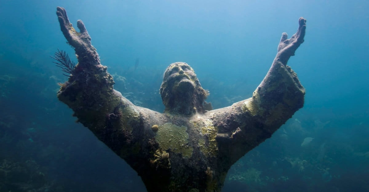 8. Christ of the Abyss – Key Largo, Florida