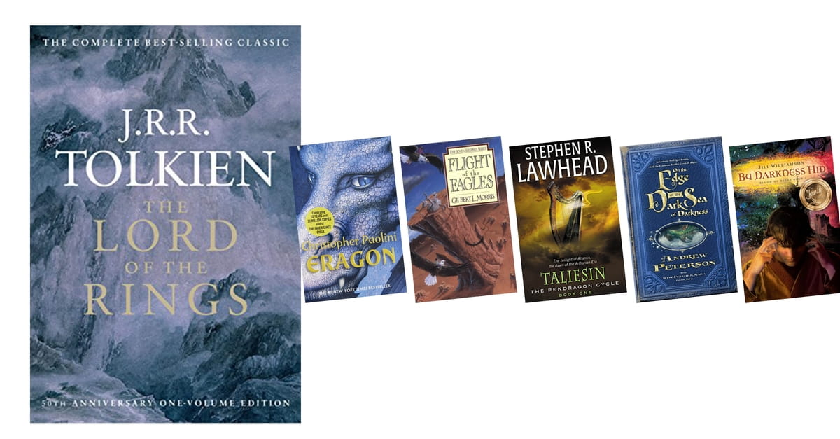 If you loved The Lord of the Rings by J.R.R Tolkien