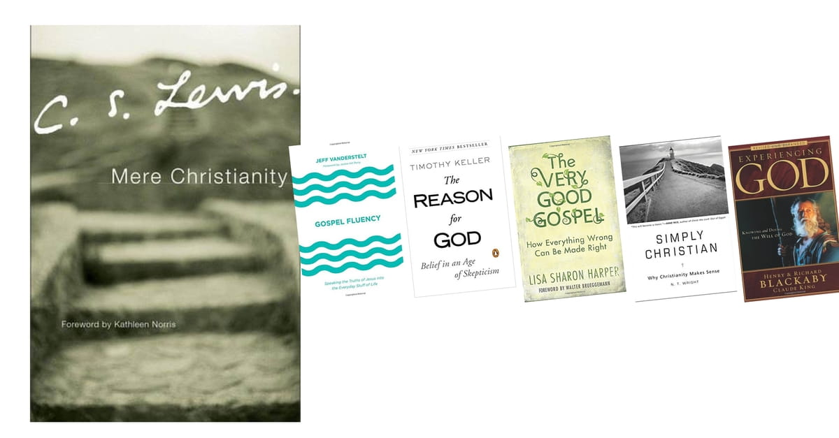 If you loved Mere Christianity by C.S. Lewis...