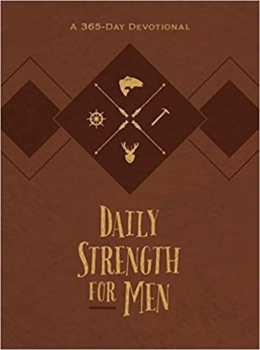 Daily Strength for Men Chris Bolinger Book Cover