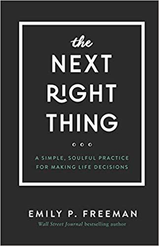 cover of the book The Next Right Thing