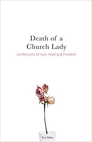cover of the book by Teri Miller, Death of a Church Lady