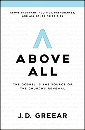 cover of Above All book by J.D. Greear