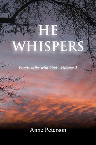 cover of the book He Whispers by Anne Peterson