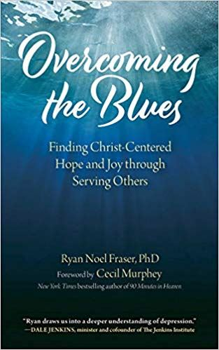 cover of Overcoming the Blues book by Dr. Ryan Noel Fraser