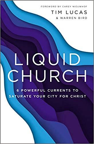 cover of Tim Lucas book Liquid Church
