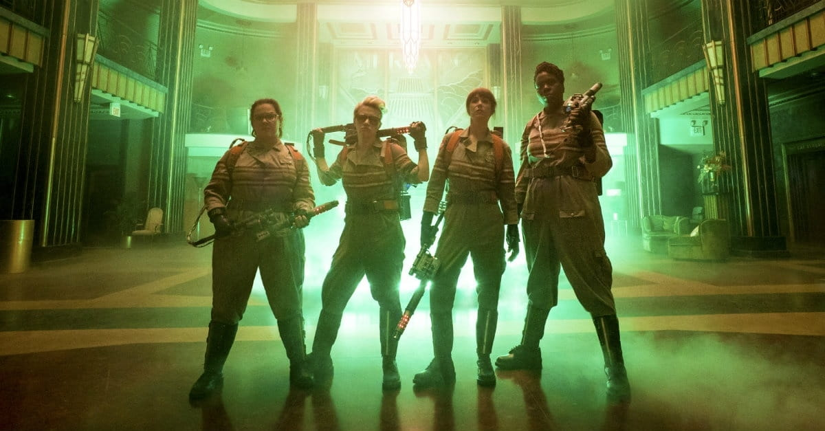 <i>Ghostbusters</i> Just a Big Marshmallow That Could Use Some Toasting