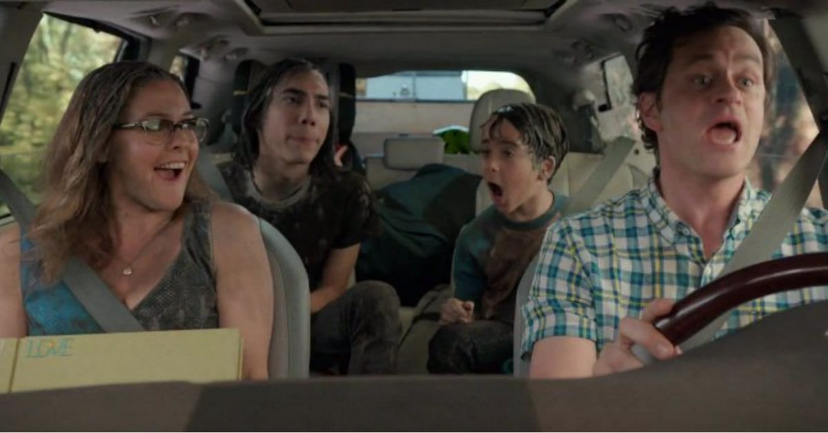 Movie about family road trip