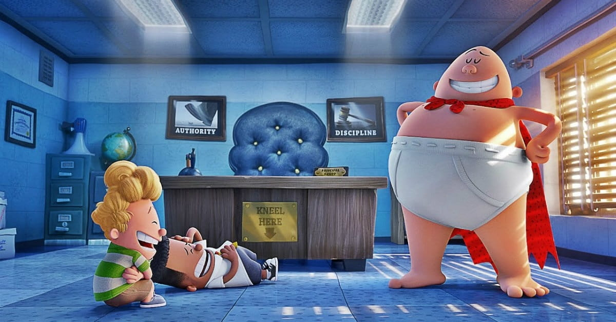 <i>Captain Underpants</i> Soars above Mediocre Storytelling
