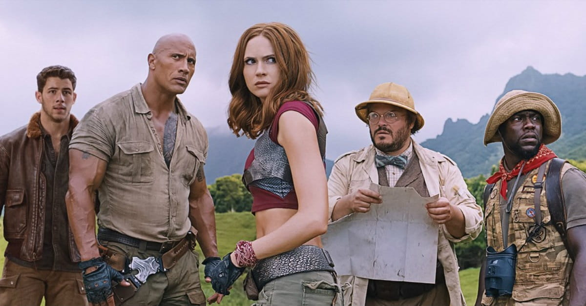 <i>Jumanji</i> 2017: JUst fun MAN, GEE