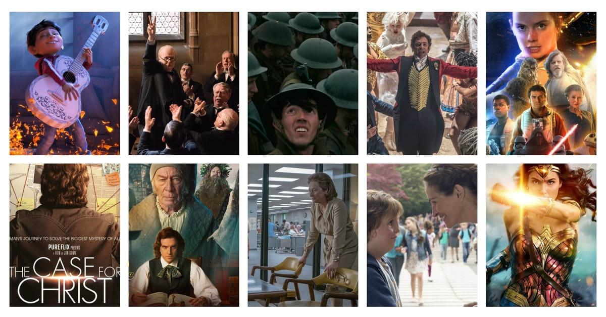 Crosswalk.com's Top 10 Films of 2017