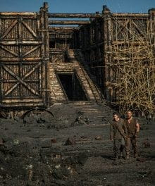 Taking a Walk on the Ark: Behind the Scenes of Aronofsky's <i>Noah</i>