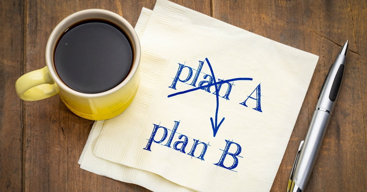 Does Making a Backup Plan Show a Lack of Faith? - Joe McKeever ...