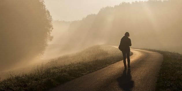 road walking