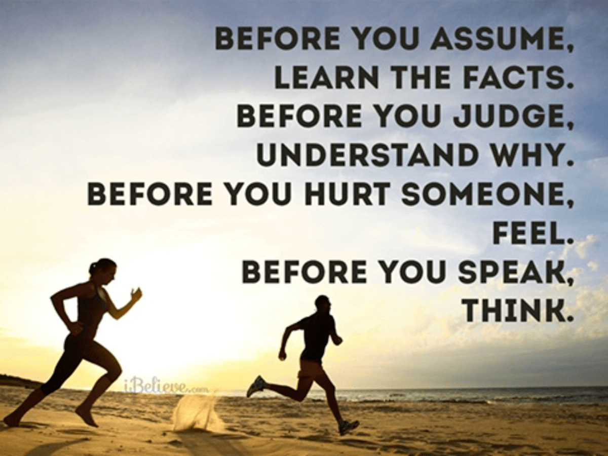 Before You Assume...