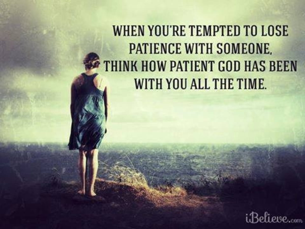 Before You Lose Patience...