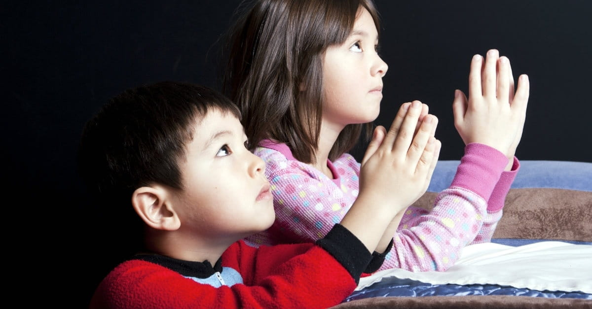 Children's Bedtime Prayers - What to Pray with Kids Before Sleep