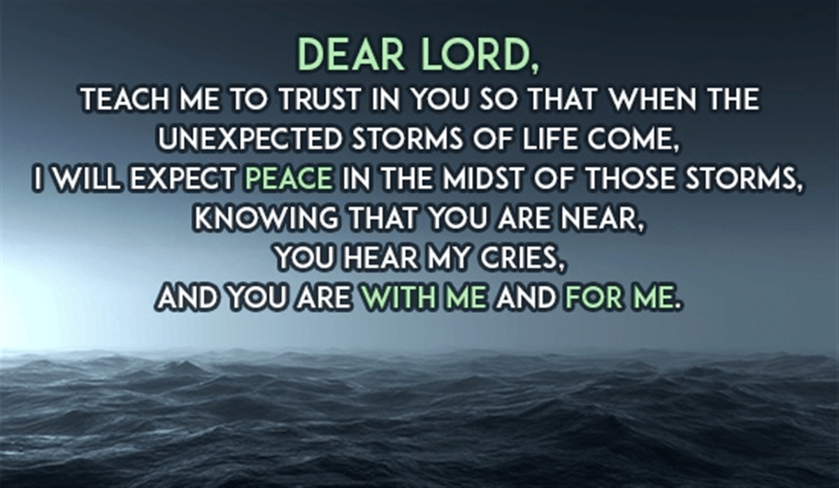 a prayer for peace - powerful words!