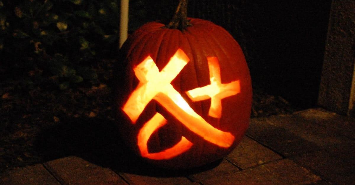 Thank God for Halloween