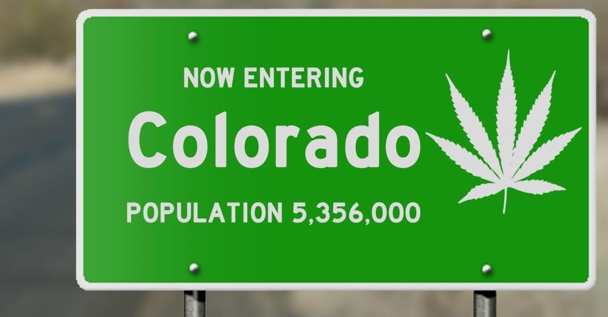 2. Colorado legalized the recreational use of marijuana.