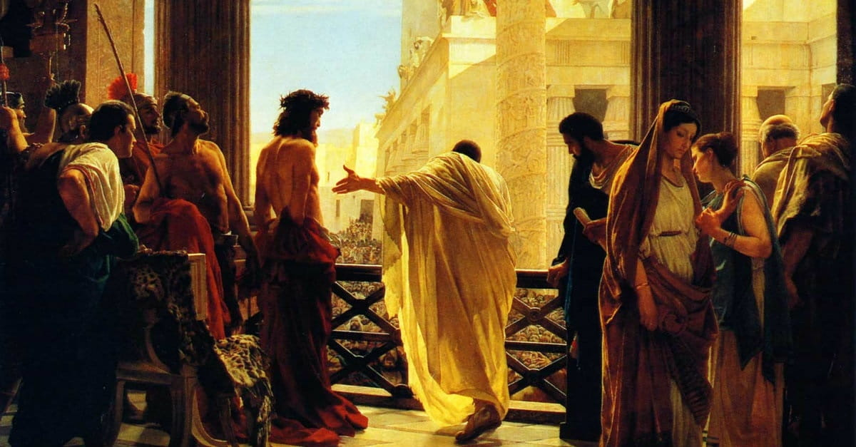 5. Pontius Pilate: The Reluctant Judge