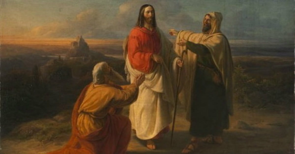 #109. Appearance on the Road to Emmaus (Luke 24:13-35 ...