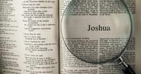 5. Joshua's Pep Talk (Joshua 1)