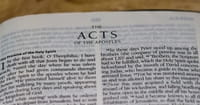9. Replacing Traitors (Acts 1: 12-26).