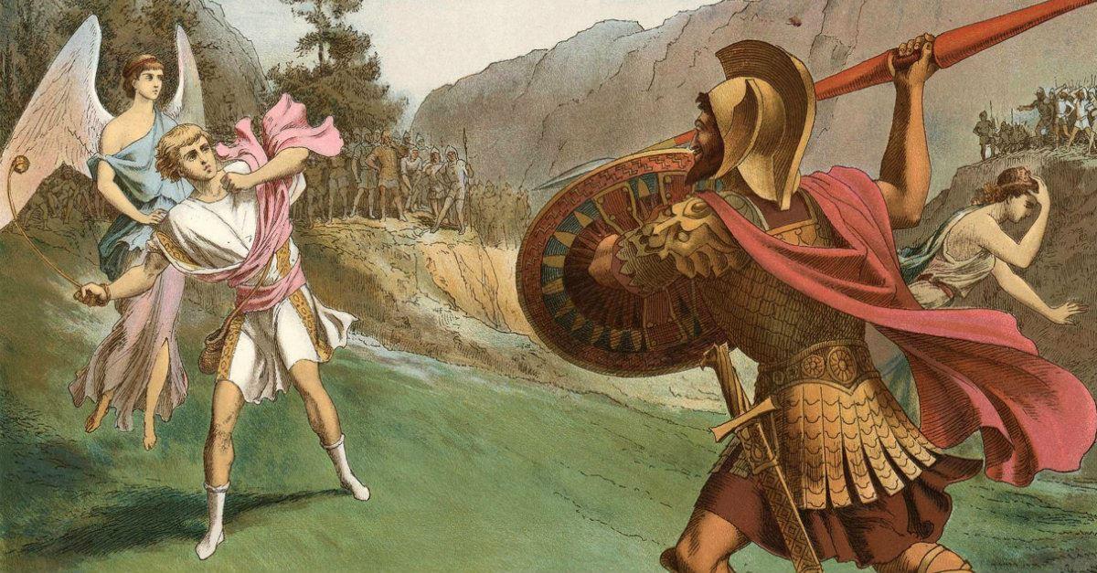 10. David and Goliath