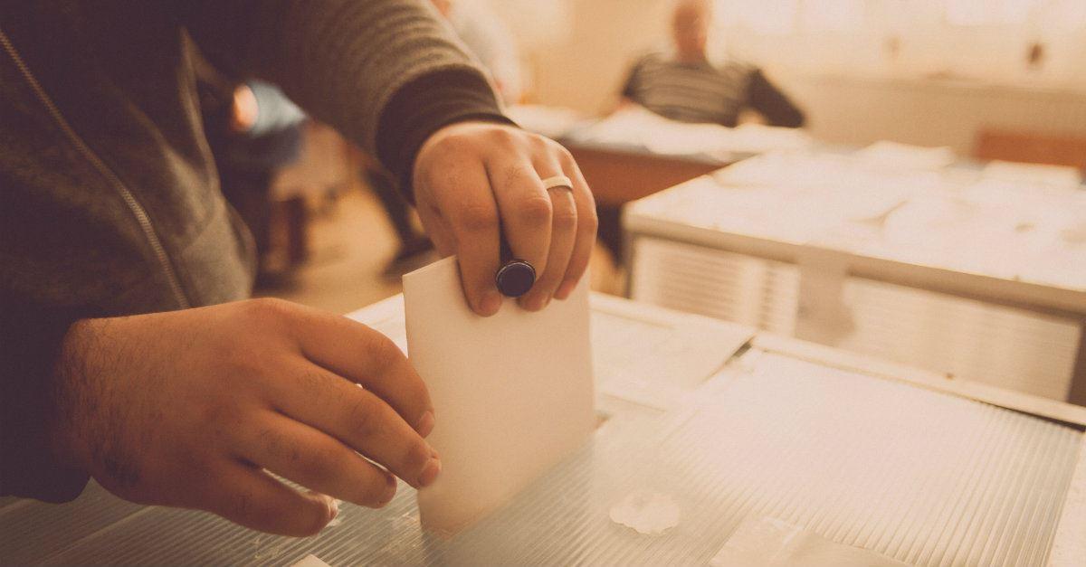 1. Vote with gratitude.