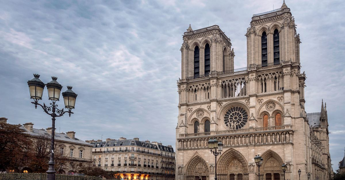A Prayer for the Notre Dame Cathedral