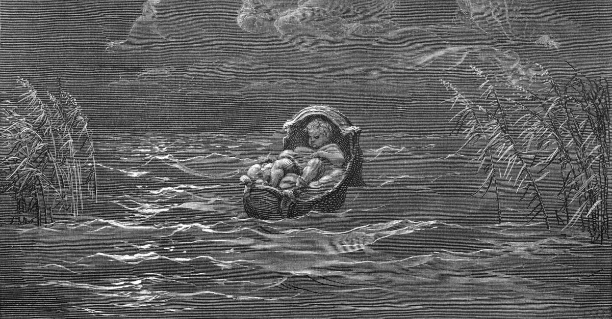 1. Moses didn't have an 'ideal' upbringing.