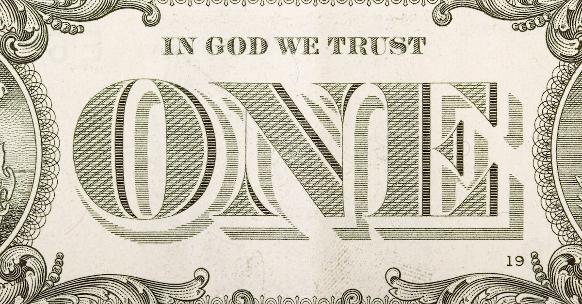 """Why Is """"In God We Trust"""" on the US Currency?"""