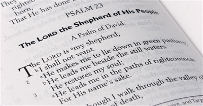 How Psalm 23 Talks About Self-Care