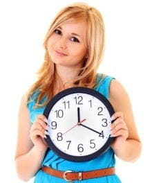 Time's Up! Is Your Room Clean?