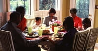 4. A Prayer for Family Mealtime