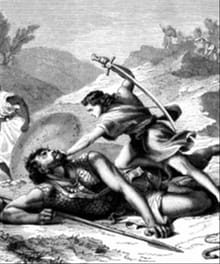 What is the Lesson of David and Goliath?